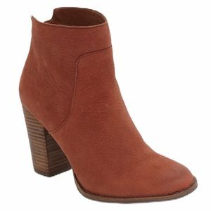Lucky Brand Liesell stacked heel ankle bootie